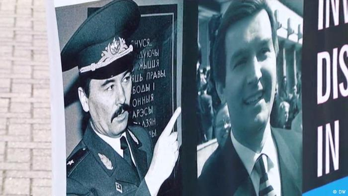 Garavski says the SOBR units were responsible for the murders of Zakharenko (l) and Gonchar (r)