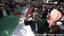 Algerien Proteste