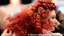 TOP HAIR Messe Duesseldorf 2017 Rote Locken