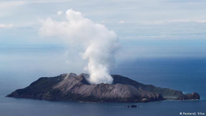 White Island New Zealand volcano eruption