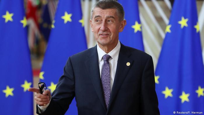 Brüssel EU Gipfel   Andrej Babis (Reuters/Y. Herman)