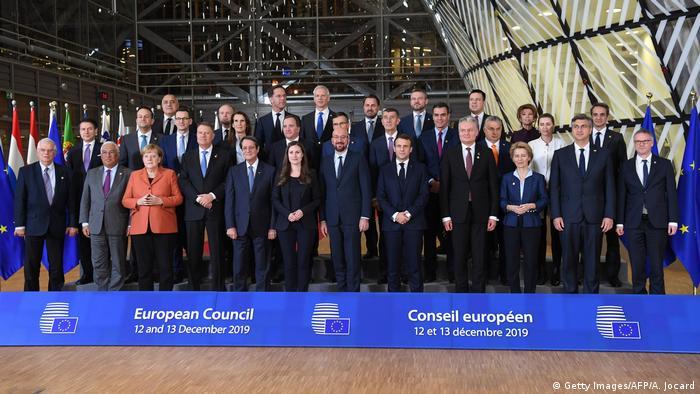 Brüssel EU Gipfel   Familienfoto