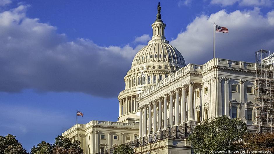 USA Washington: Das Kapitol - Sitz des US-Kongresses