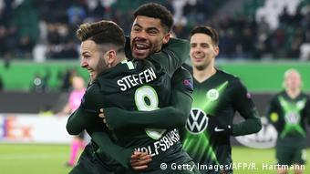 Fußball Europa League VfL Wolfsburg vs. AS Saint-Etienne (Getty Images/AFP/R. Hartmann)