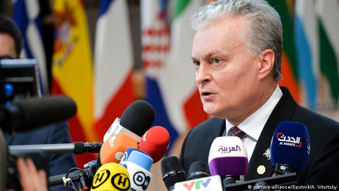 Гітанас Науседа: Подовження санкцій - мотивація для Москви