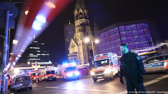 Berlin Terroranschlag am Breitscheidplatz