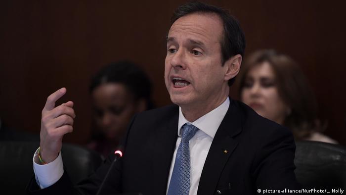 USA Washington Ex-Präsident von Bolivien Jorge Quiroga