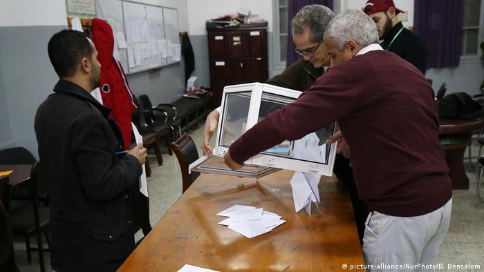 Algerien Präsidentschaftswahl (picture-alliance/NurPhoto/B. Bensalem)