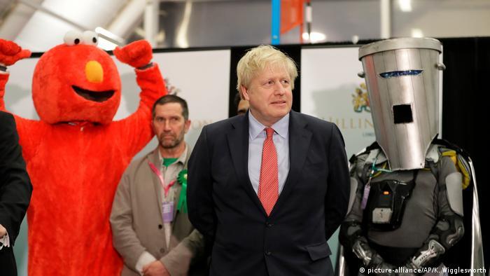 Großbritannien Parlamentswahl Boris Johnson
