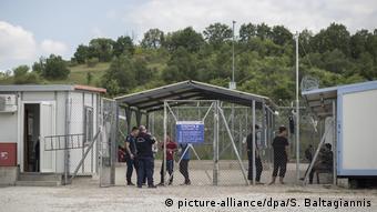Το κέντρο πρώτης υποδοχής και ταυτοποίησης προσφύγων στο Φυλάκιο Ορεστιάδος