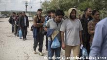 Flüchtlinge an der griechisch-türkischen Grenze