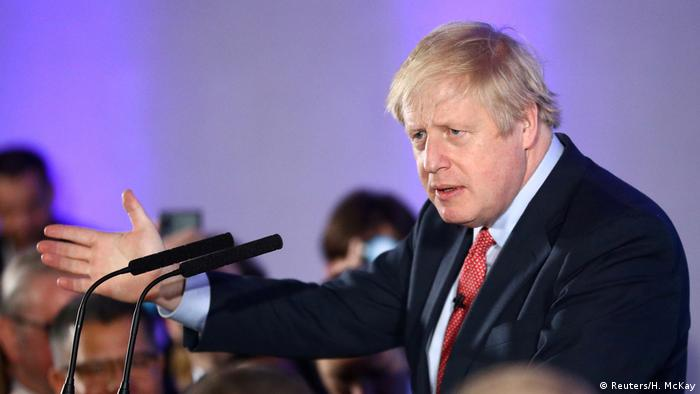 سيتعين على بوريس جونسون الوفاء بوعده في عام 2020. يريد رئيس وزراء المملكة المتحدة أن تخرج البلاد من الاتحاد الأوروبي في 31 يناير/ كانون الثاني - كما هو مخطط. وستجرى المفاوضات حول العلاقات المستقبلية بين الطرفين خلال الفترة المتبقية من السنة الانتقالية، حيث ستبقى المملكة المتحدة في الاتحاد الجمركي للاتحاد الأوروبي وسوقها الموحدة.