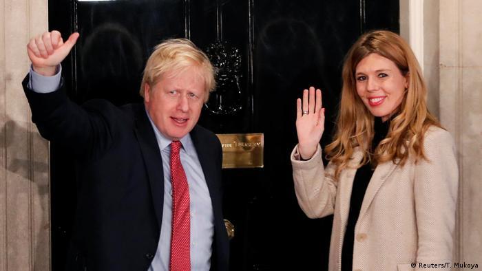 Großbritannien Boris Johnson nach der Wahl 2019