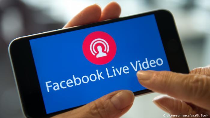 Symbolbild Facebook Live Video