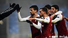 Liga Europa: Quatro portugueses e dois alemães nos 16 avos-de-final