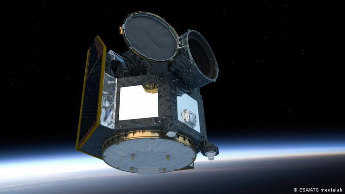 ESA'nın basına sunduğu Cheops simülasyonu (Foto: Arşiv)