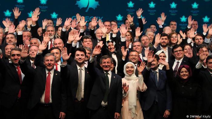U sredini Davutoglu sa suprugom - 12.12.2019. osnivanje stranke