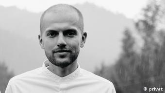 Український журналіст Василь Бідун
