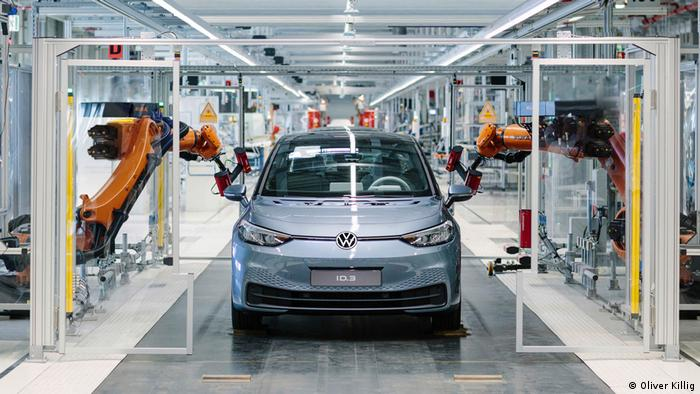 Производство VW