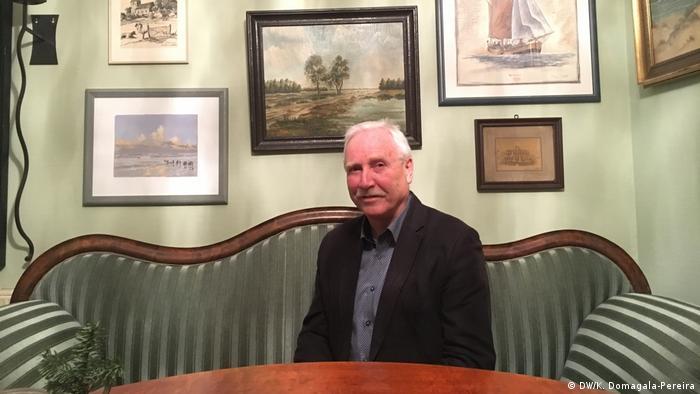 Klaus Wilbers, były burmistrz Esens i policjant, pamięta Diekena z opowiadań starszych kolegów