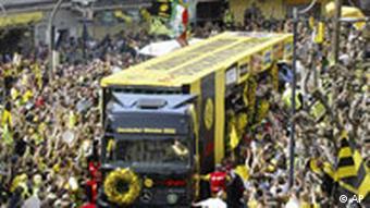 Meisterfeier in Dortmund