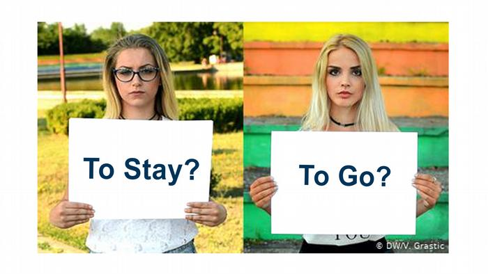 DW Projekt, HA Europa, Let's face it: stay or go? / Englisch