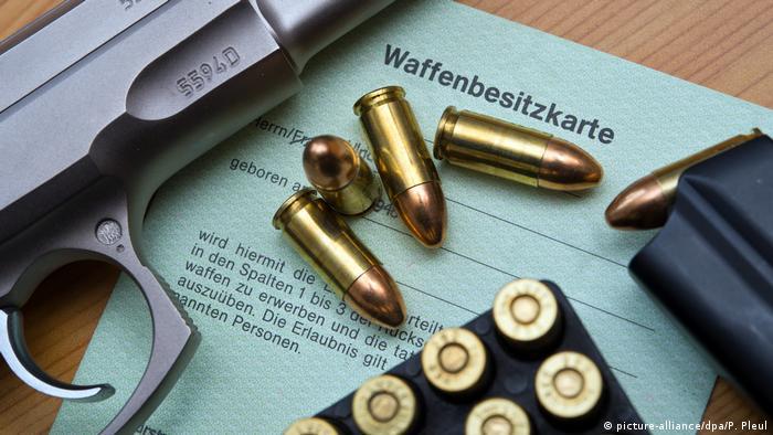 German gun ownership card