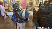 Ukraine Kiew | Gottesdienst St. Michaelkloster
