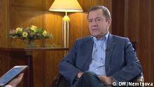 Nemtsova. Interview mit Walentin Jumaschew, der Berater des Präsidenten von Russland