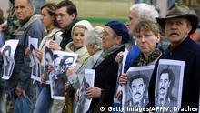 Weißrussland Protest verschwundene Oppositionelle Yuri Zakharenko