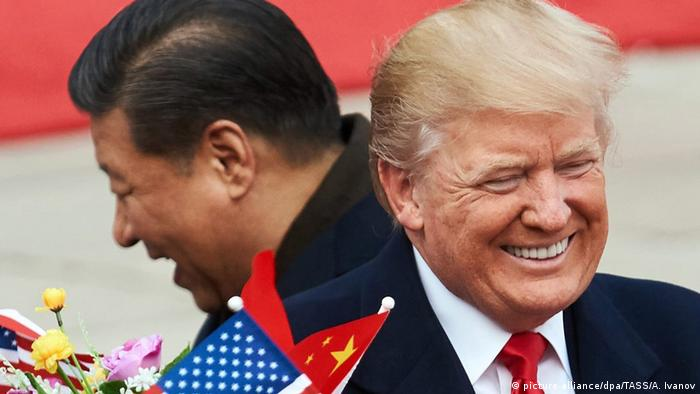 US Präsident Donald Trump in China