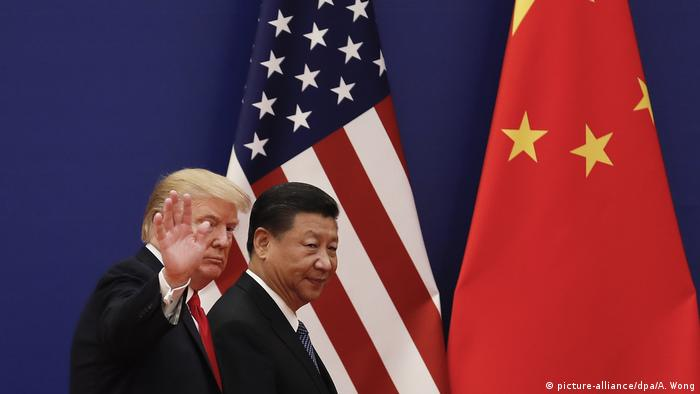 Peking Staatsbesuch Trump in China (picture-alliance/dpa/A. Wong)