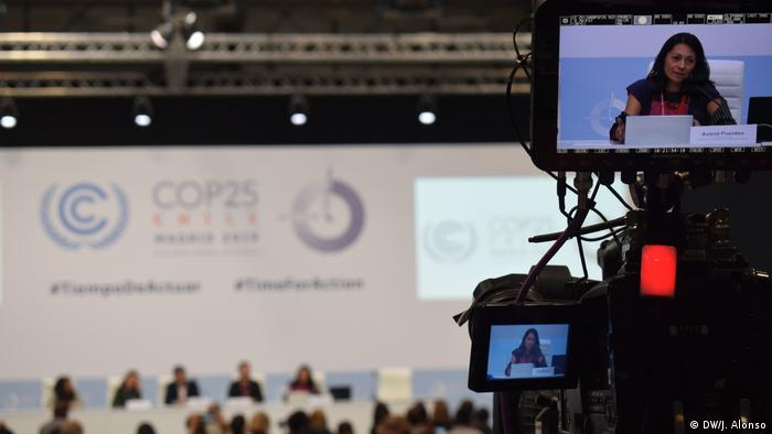 Spanien COP 25. UN-Klimakonferenz in Madrid | Astrid Puentes (DW/J. Alonso)