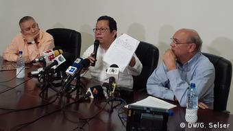 Nicaragua Pressekonferenz Medienobservatorium