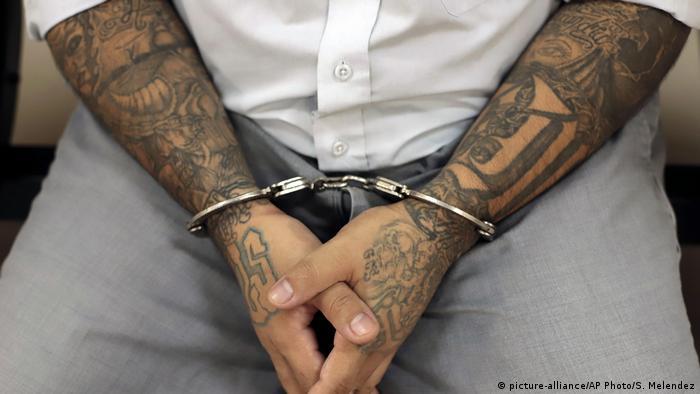 El Salvador Verurteilung Bandenmitglieder
