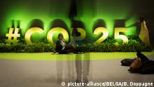 Spanien COP 25. UN-Klimakonferenz in Madrid - Logo