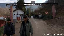 Bosnien und Herzegowina Sarajevo | Kritik an Flüchtlingscamp Grenze zu Kroatien