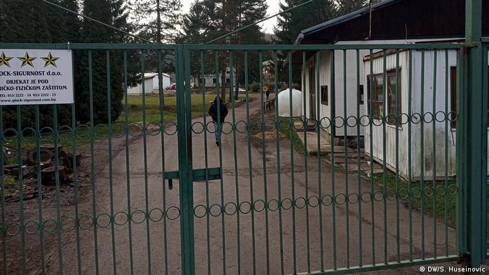 Bosnien und Herzegowina Sarajevo   Kritik an Flüchtlingscamp Grenze zu Kroatien