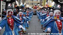 Belgien Karneval in Aalst 2014 (Getty Images/AFP/N. Maeterlinck)