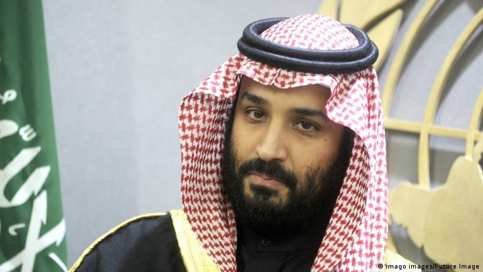 Kronprinz von Saudi-Arabien Mohammad bin Salman