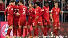 Fußball: Bundesliga, FC Bayern München - Werder Bremen