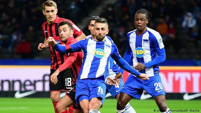 Fußball: Bundesliga, Hertha BSC - SC Freiburg