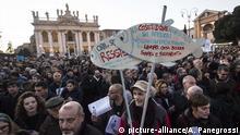 """Italien """"Sardinen"""" rufen zu Großdemo in Rom auf"""