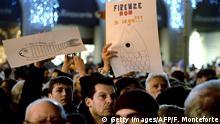 Italien: Sardinenbewegung - Großdemonstration