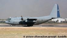 Chile Militärflugzeug C-130 Hercules