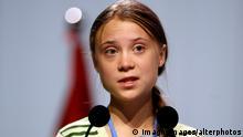 Spanien Greta Thunberg 25. UN-Klimakonferenz