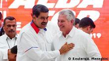 Kuba ALBA-Gipfel Havanna   Maduro und Diaz-Canel