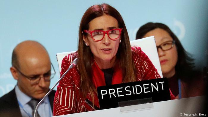 Spanien Klimaverhandlungen bis Sonntagmorgen - Kritik an Konferenzleitung | Carolina Schmidt