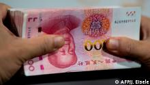 Symbolbild Handeslstreit China - USA | 100 Yuan