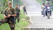 Colombian soldiers allegedly preyed on the poor